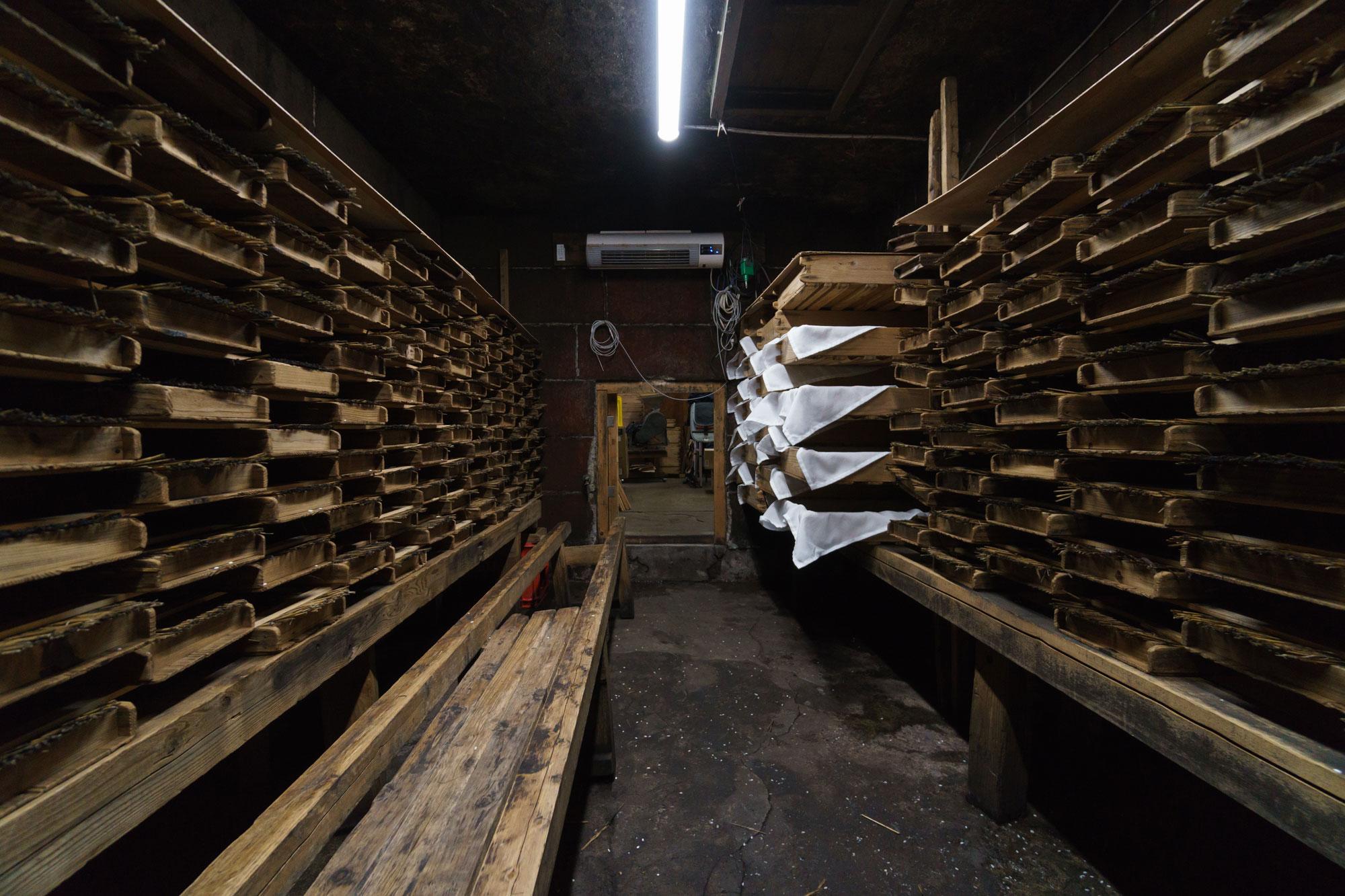白米麹発酵工程